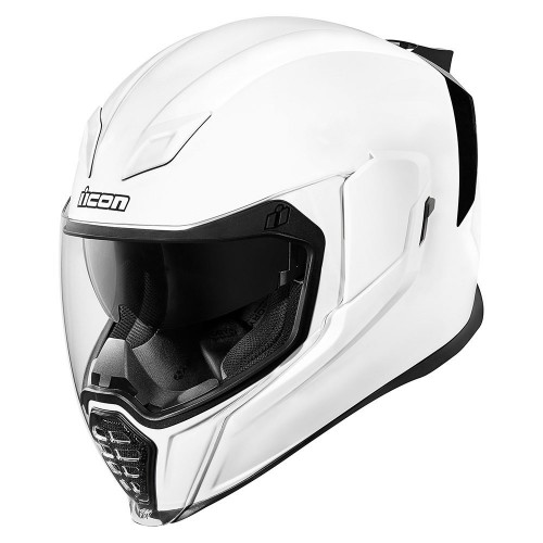 Casque ICON AIRFLITE™ GLOSS SOLIDS™ Blanc