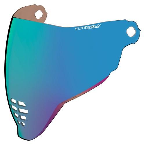 Visière ICON AIRFLITE™ FOG FREE FLITE SHIELD™ Iridium Bleu