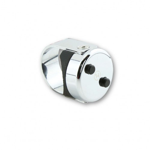 Commodo 2 boutons alu Highsider Classic Chrome