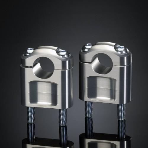 Pontets ABM 22mm Argent hauteur 20mm (Paire)