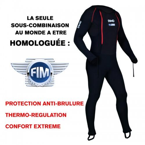 Sous combinaison Skeed Moto-Racer Air2 homologuée FIM