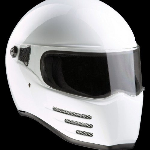 Casque Bandit Helmets Fighter Blanc Homologué