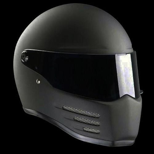 Casque Bandit Helmets Fighter Noir mat Homologué