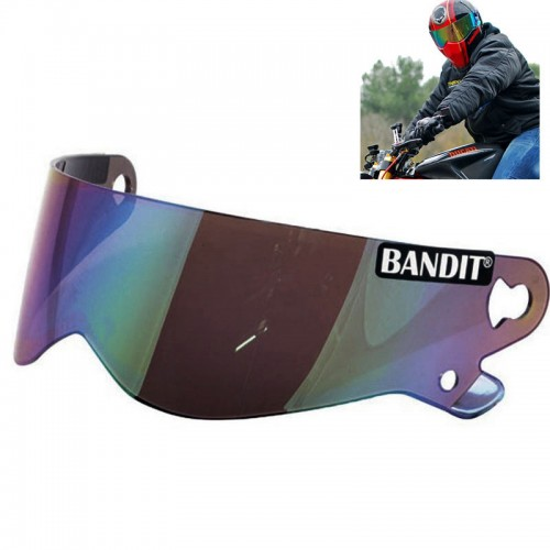 Visière miroir de casque Bandit XXR - Super Street II - Crystal