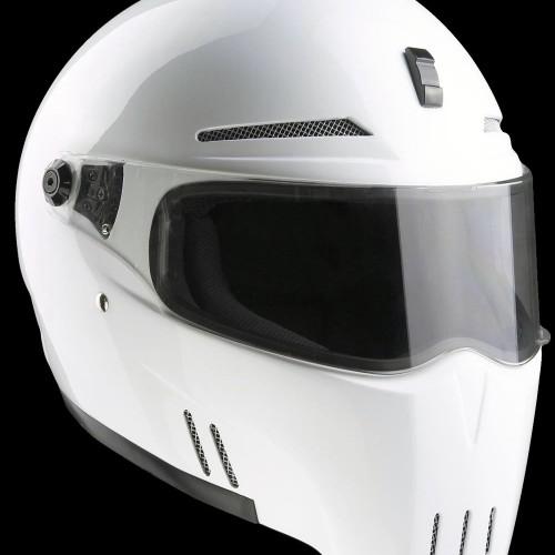 Casque Bandit Alien II Blanc