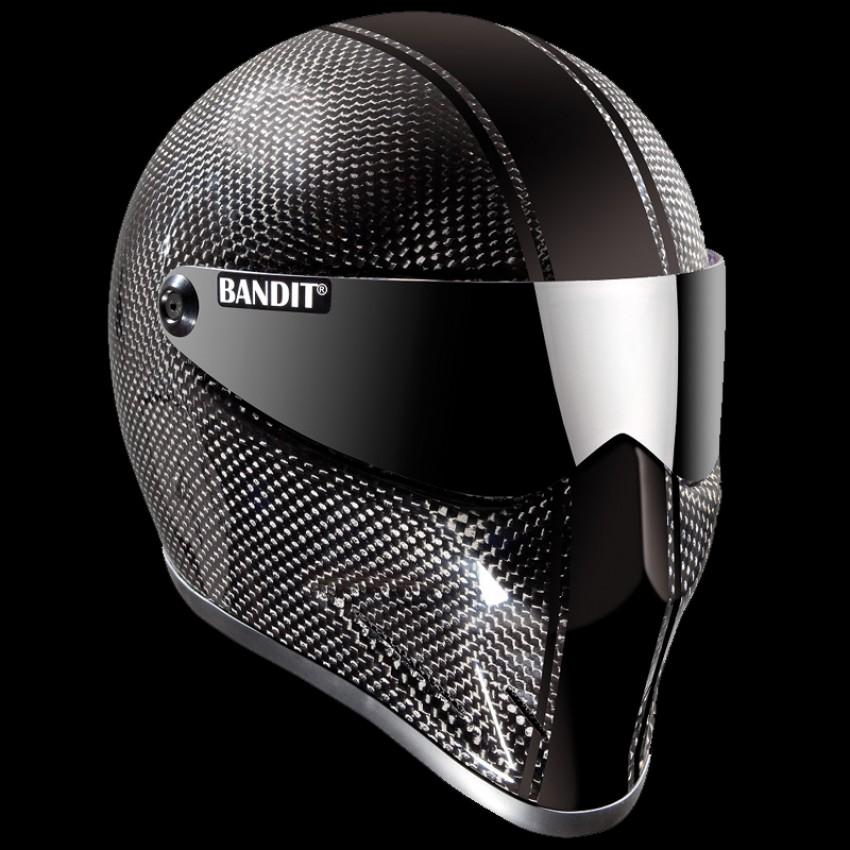 Casque Bandit Helmets Crystal carbone