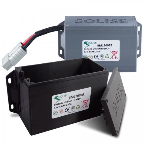 Boitier de protection pour batterie Lithium Solise CCA240