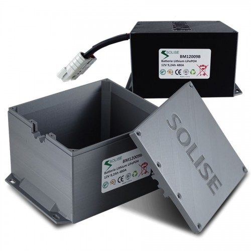Boitier de protection pour batterie Lithium Solise CCA480