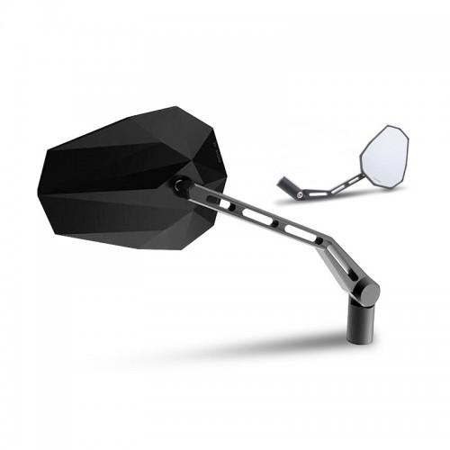 Rétroviseurs Highsider Stealth-X1 Noir