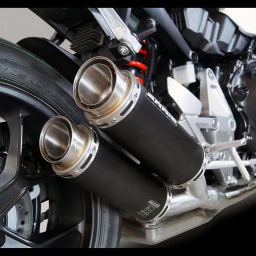 Silencieux Bodis MGPX2 Inox noir - CB 1000 R 2018-19 - Honda