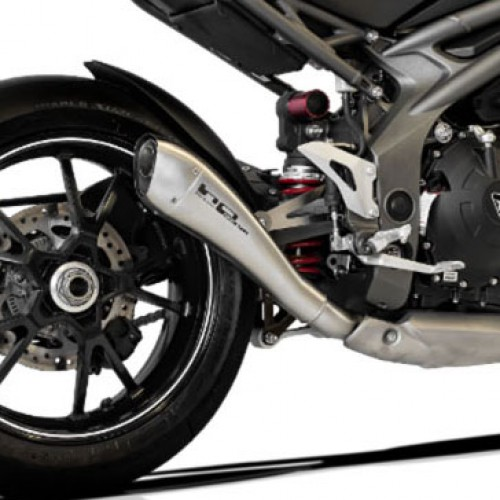 Silencieux HP Corse Hydroform Satin - Speed Triple 2016+ - Triumph