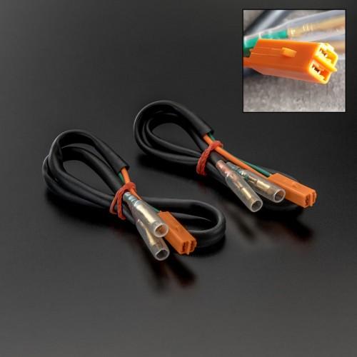 Adaptateurs de connectiques de clignotants Kawasaki