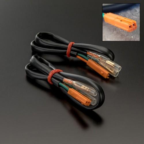 Adaptateurs de connectiques de clignotants pour Honda (Paire)