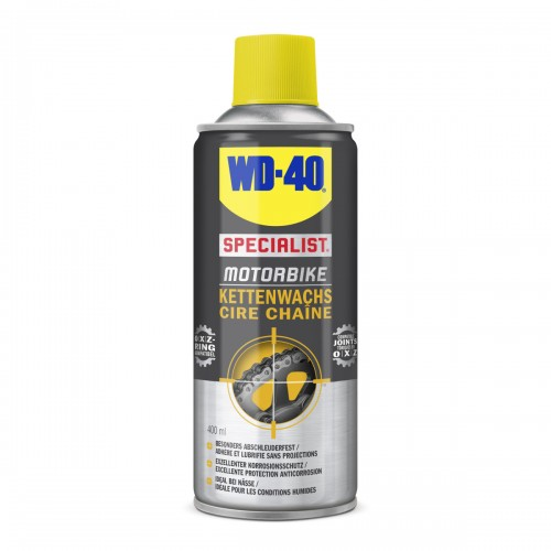 WD-40 Cire chaîne conditions Humides 400ml