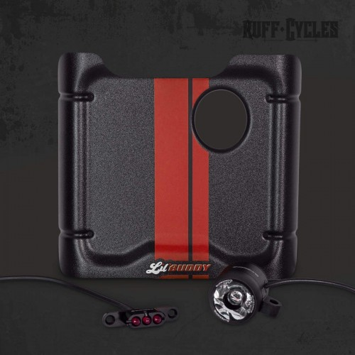 Kit plaque phare + feu Supernova Ruff Cycles pour Lil'Buddy - Rouge