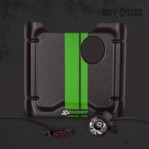 Kit plaque phare + feu Supernova Ruff Cycles pour Lil'Buddy - Vert