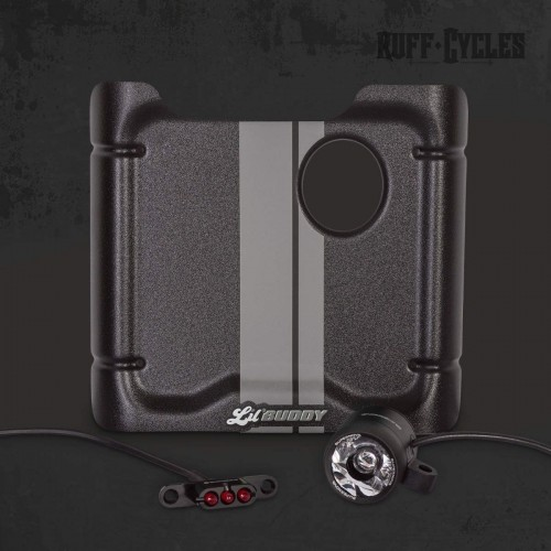 Kit plaque phare + feu Supernova Ruff Cycles pour Lil'Buddy - Gris