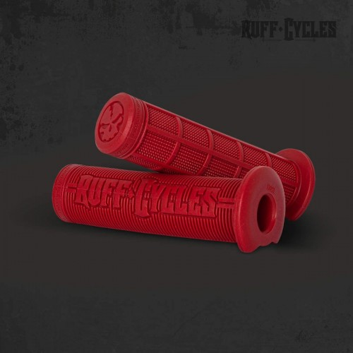 Poignées rouges RUFF Cycles pour Lil'Buddy