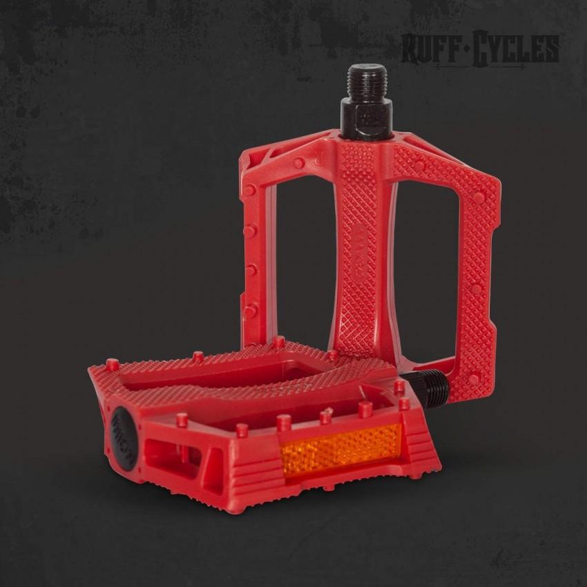Pédales 9/16 Rouges RUFF Cycles pour Lil'Buddy