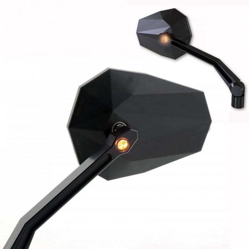 Rétroviseurs / clignotants Highsider Stealth-X4