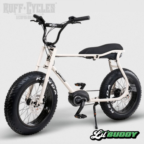 Vélo électrique RUFF Cycles Lil'Buddy - Pearl White - N° RB21B21500EU