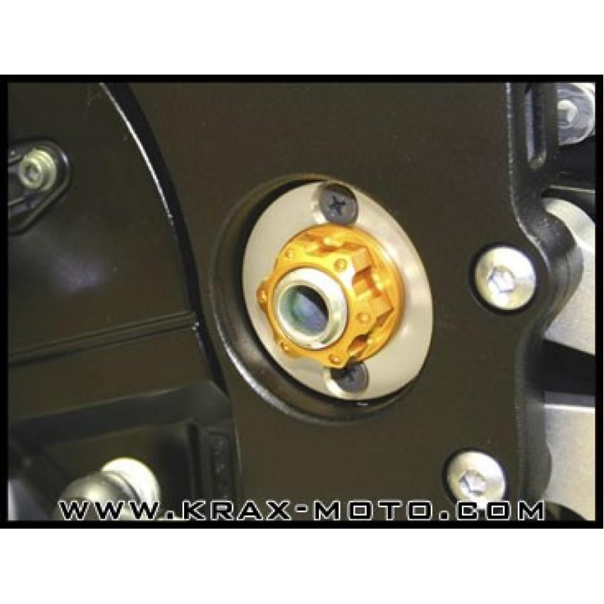 Ecrou d'axe de bras oscillant Evotech - CB 1000 R - Honda